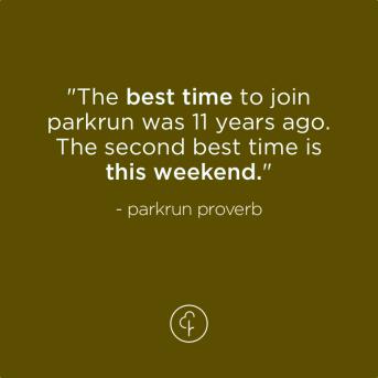 best time parkrun