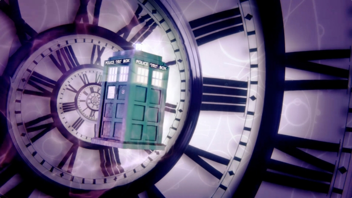 dr who title sequence