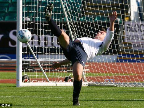 ed balls own goal