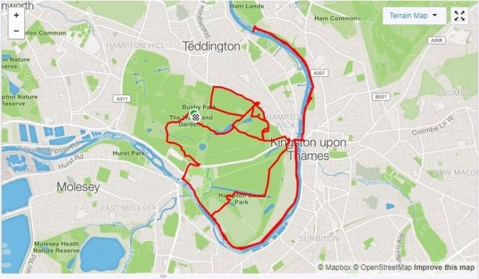 strava long run london