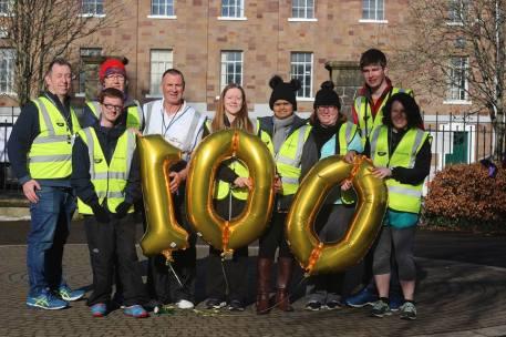 100 balloons