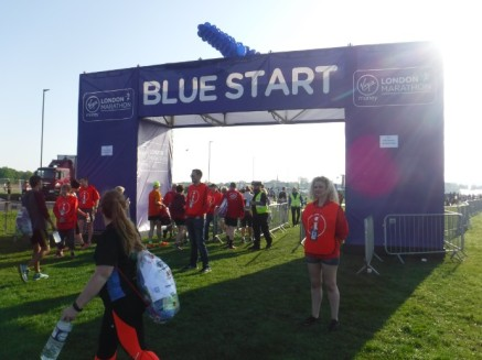 blue start