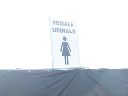 female urinals