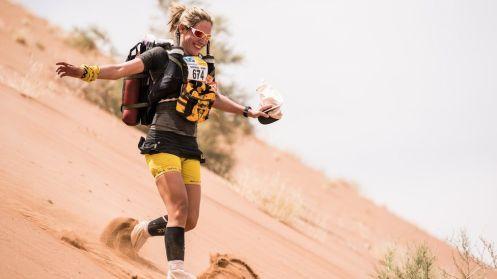 Marathon des sables Sophie Raworth