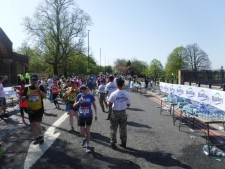Mile 3 london marathon 2018 (4)