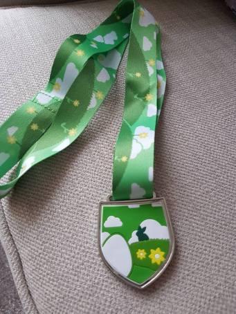 nors easter run medal