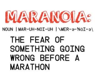 running maranoia