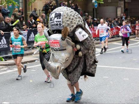 save the rhino london marathon