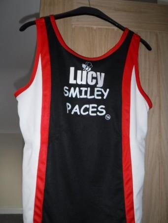 Smiley vest back