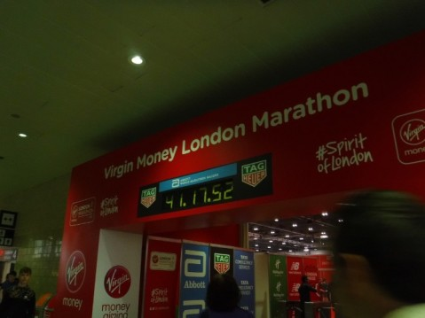 the red archway london marathon expo 2018