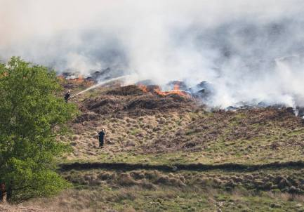 fire devastation eastern moor