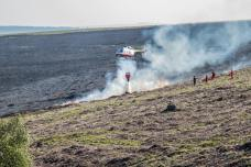 fire fighting on eastern moor