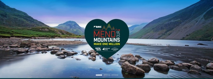 Mend our mountains logo