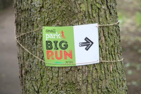 PR small park big run