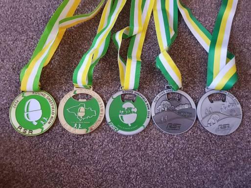 RSR medal set