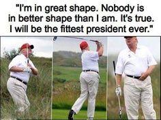fittest president ever