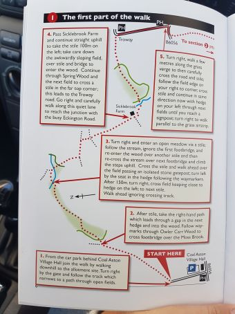 1 walk route