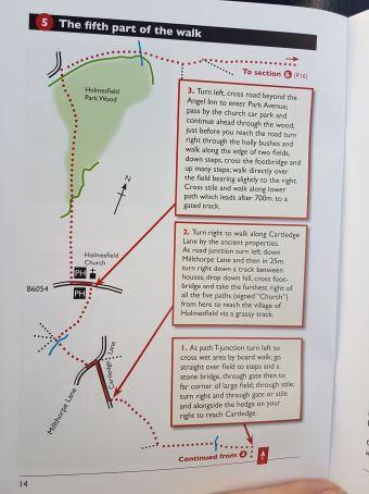 5 walk map