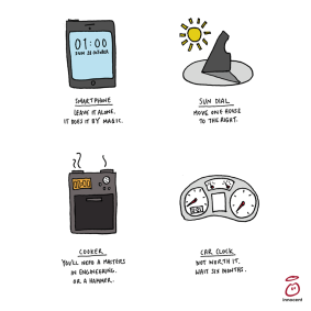 clocks change how