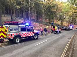 mountain rescue edale