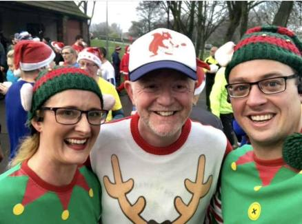 Warrington Christmas parkrun