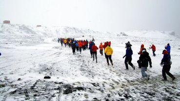 antarctica-7 marathon