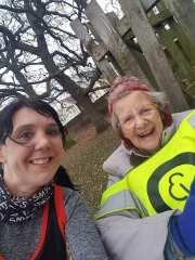 carol and mum selfie