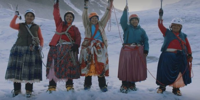 cholita climbers