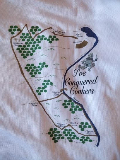 conquered conkered conkers