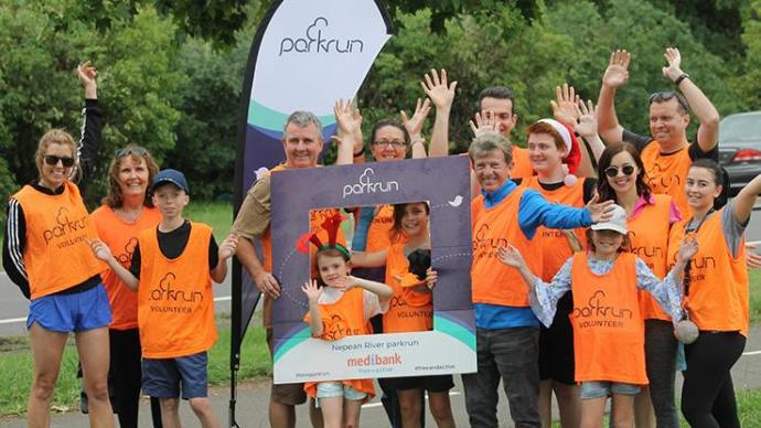 many hands make light work australia parkrun nepean river