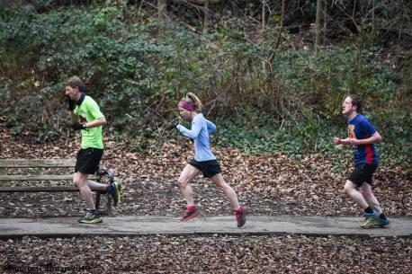 running trio