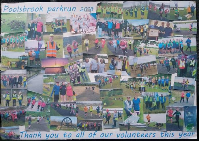 volunteer thanks collage poolsbrook