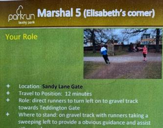 Elisabeth's corner marshal badge