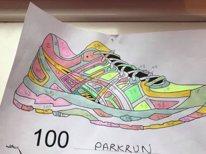 parkrun 100 tracker