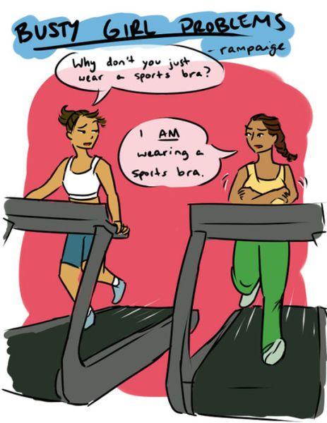 sports bra problems