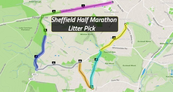 shef half litter pick