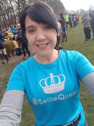 Smiley Selfie Queen at Graves