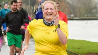 go rosy jessica parkrun heroes