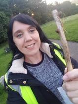 Smiley baton