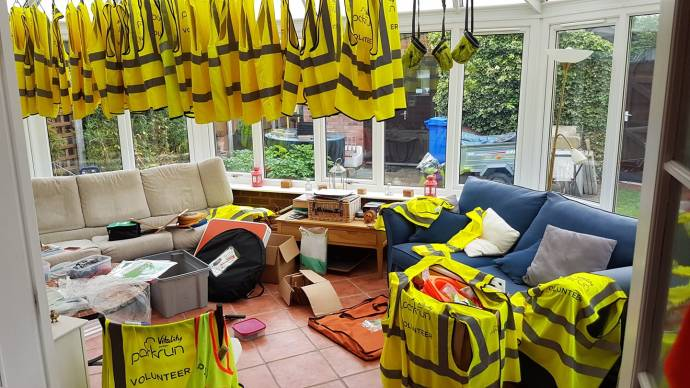 Beverley Westwood parkrun laundry mart