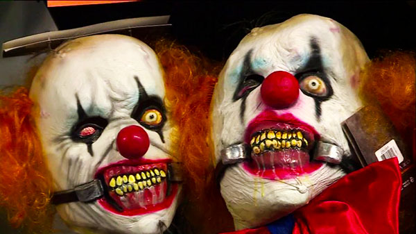 Clown-Hysteria