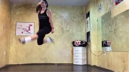 levitatin irish step dancer