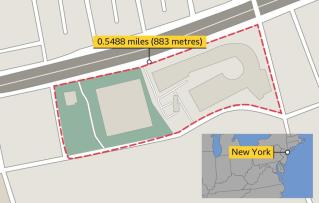 New York multi lap route