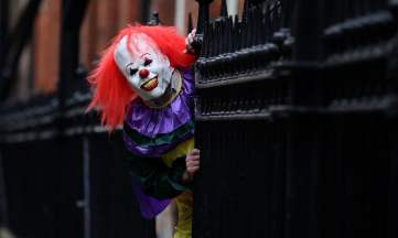 The guardian killer clown