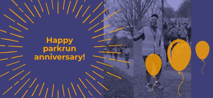 happy parkrun anniversary