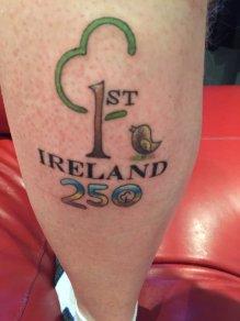 parkrun tattoo ireland