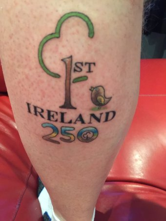 parkrun tattoo ireland