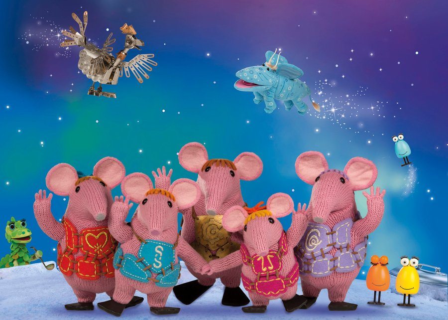 clangers supporting junior parkrun