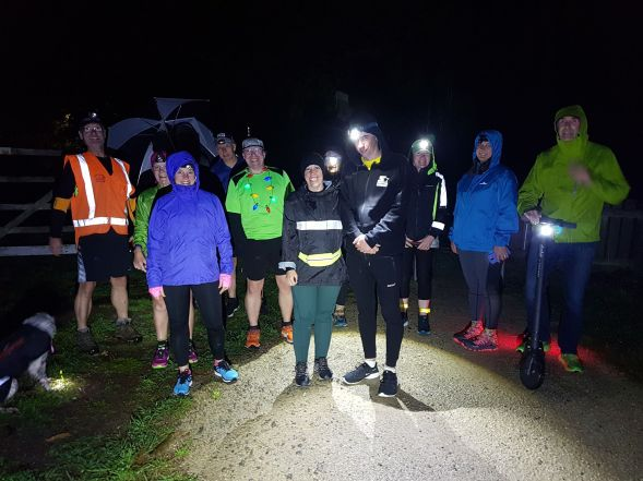 greytown woodside trail parkrun darkrun