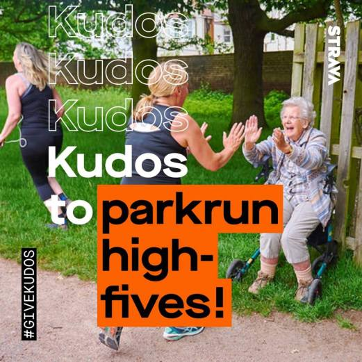 kudos to parkrun